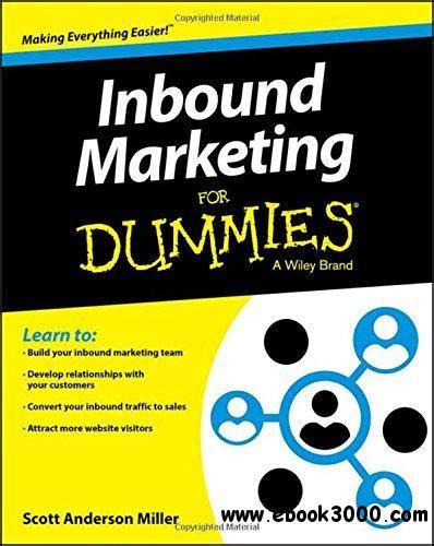 Marketing For Dummies by Inbound Marketing For Dummies Free Ebooks