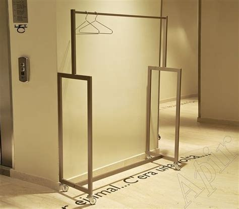 Standing Coat Closet by Floor Standing Coat Rack Contemporary Metal With
