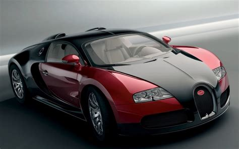 Bugatti Veyron Red And Black Cool Car Wallpapers