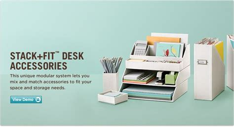 matching office desk accessories martha stewart home office with avery stack fit