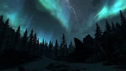 Northern Lights Alaska Background Wolf Tablet