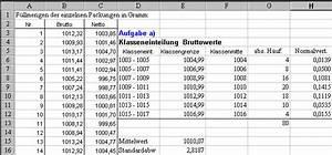 Excel Standardabweichung Berechnen : statistik mit realem zahlenmaterial ~ Themetempest.com Abrechnung