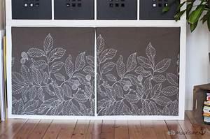 Regal Mit Vorhang : diy easy expedit pimping elbmadame ~ Markanthonyermac.com Haus und Dekorationen
