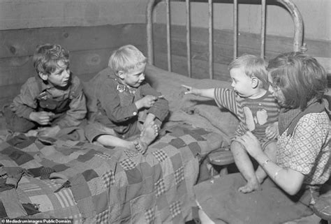 great depression images show squalid conditions faced