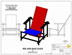 Red And Blue Chair On Behance