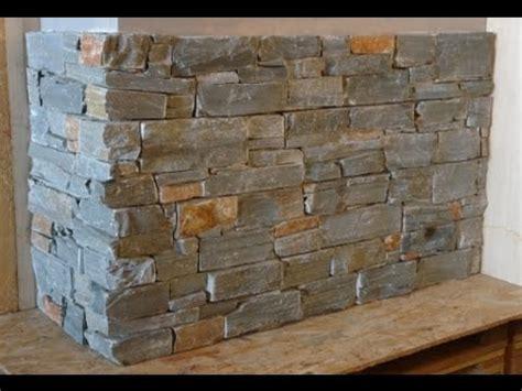 pose facile de parement en pierre naturelle par indoor