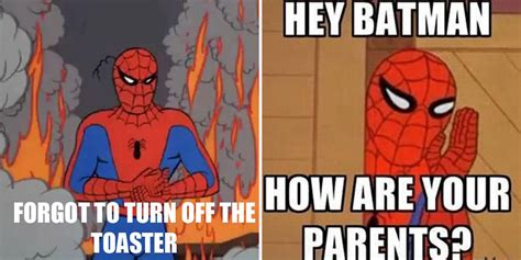 1960 Spiderman Meme - the best spider man memes cbr