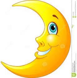 Smiling Moon Clip Art