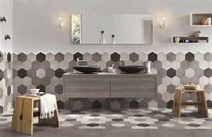salle de bain carreler les murs a mi hauteur styles de With carreler mur salle de bain