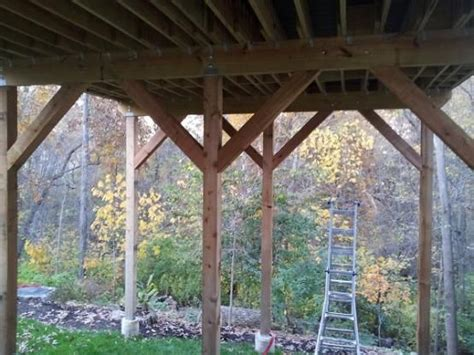free standing deck bracing 17 best images about deck images on deck