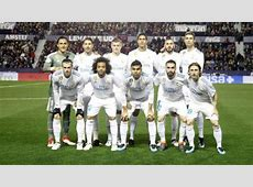 Real Madrid Alineación oficial del Real Madrid vs Levante