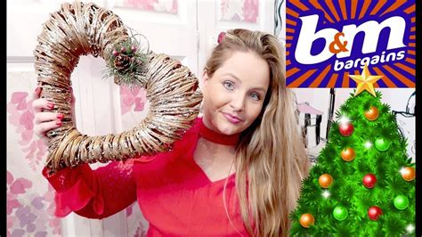 B&m Home Decor : B&m Bargains Christmas Haul / Decor/ Home/ Stocking