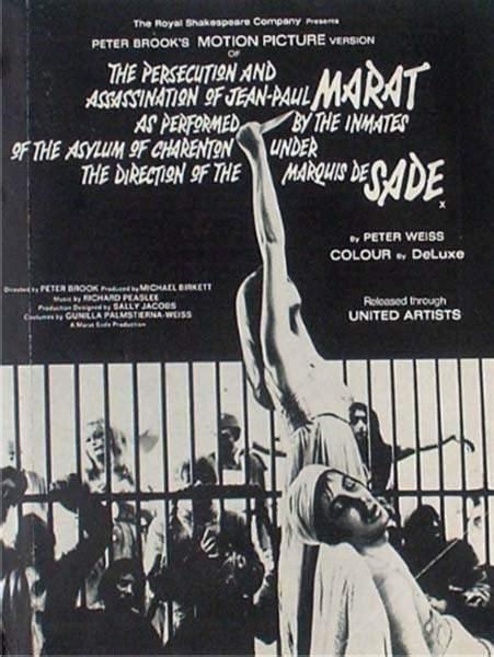Sección visual de Marat/Sade - FilmAffinity