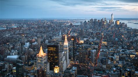 Empire State Building Wallpaper Download 5120x2880