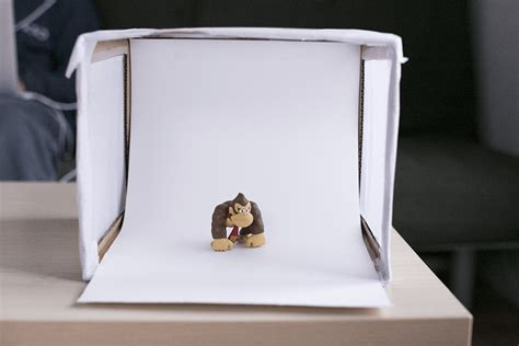improve  product photography   diy light box