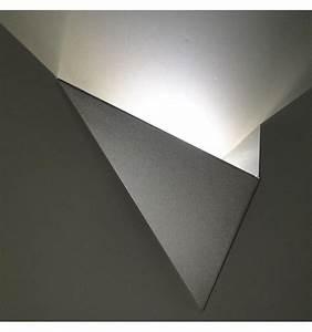 Applique Murale Led : applique murale led design london coloris argent ~ Melissatoandfro.com Idées de Décoration