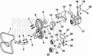 Volvo Penta Exploded View    Schematic Manual Steering