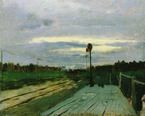 The halt, c.1885 - Isaac Levitan - WikiArt.org