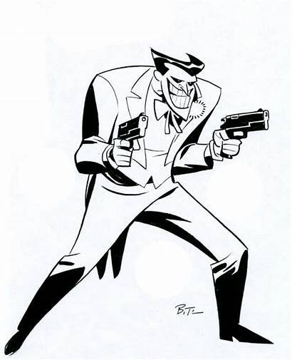 Joker Timm Batman Bruce Animated Drawing Series