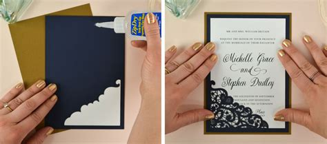 diy laser wedding invitations    cards