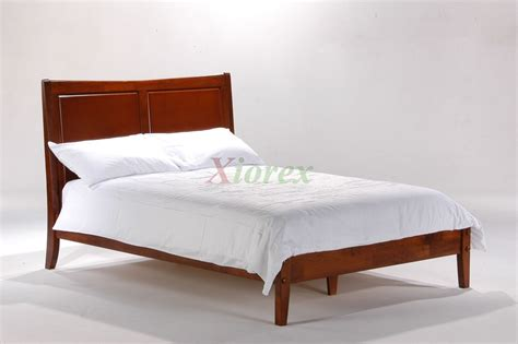 solid wood bed night  day saffron bed white cherry