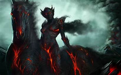 Angel Devil Demon Fantasy Horse
