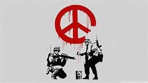 Banksy Wallpaper Hd - WallpaperSafari