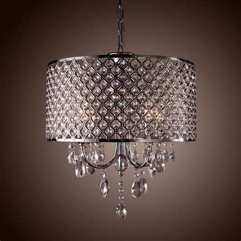 Bedroom Drum Chandeliers by Drum Chandelier Modern 4 Lights Ceiling Light