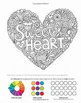 Coloring Doodles Notebook Treats Activity Volinski Jess Colouring Sweets sketch template