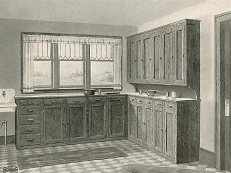 cabinet for kitchen unpainted historical kitchens not all 1900 1920 s 1912