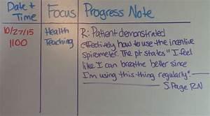 How To Write Nursing Notes