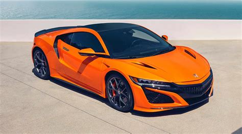 acura nsx updates announced