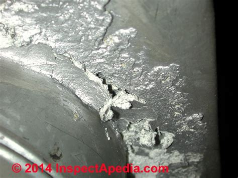 identify asbestos paper duct wrap  buildings