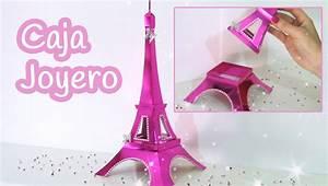 Manualidades: CAJA o JOYERO Torre Eiffel Innova Manualidades YouTube