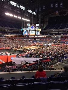 Lucas Oil Stadium Section 247 Row 4 Seat 13 Shared By