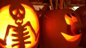 Tete De Citrouille Pour Halloween : d co halloween sculpture de citrouille youtube ~ Melissatoandfro.com Idées de Décoration