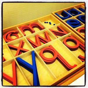montessori large large movable alphabet montessori With sign with movable letters
