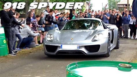 Porsche 918 Acceleration by Porsche 918 Spyder Sound Acceleration