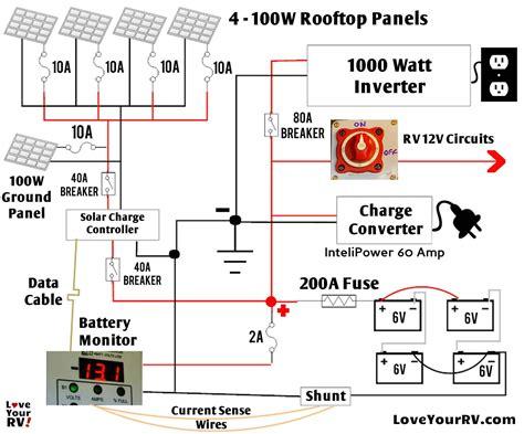 Solar Panels Wiring Diagram Installation Download