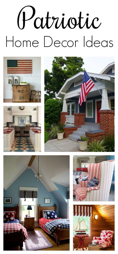 Home N Decor by Patriotic Home Decor Ideas Town Country Living