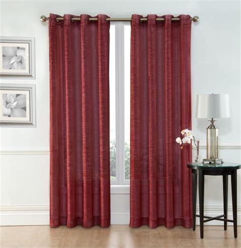sheer window curtain grommet panels width 54 quot x 84