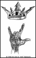 Image Gallery latin kings gang sign
