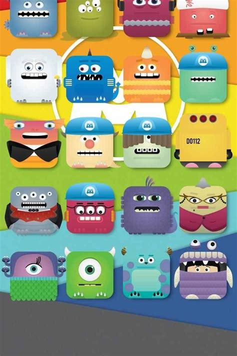 Background Home Screen Disney Wallpaper by Monsters Inc Home Screen I Need Thissss Disneyyyy