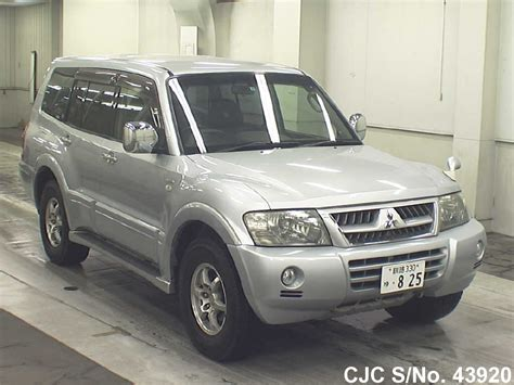 automobile air conditioning service 2005 mitsubishi pajero spare parts catalogs 2005 mitsubishi pajero silver for sale stock no 43920 japanese used cars exporter
