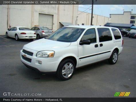 Chevrolet Uplander 2006 by Summit White 2006 Chevrolet Uplander Ls Medium Gray