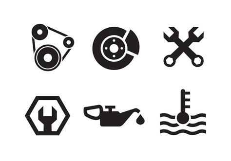 Piston Engine Icon Collection