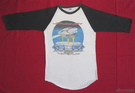 Journey Vintage T Shirt 80's Tour Concert 1982 Escape