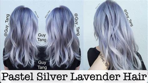 Pastel Silver Lavender Hair