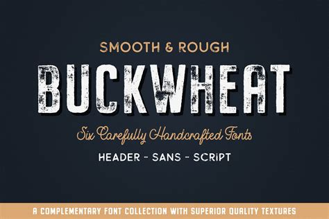 Buckwheat Font Collection (New Subscriber Special) - Tom ...