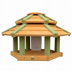 Vogelhaus Mit Ständer : habau 2523 vogelhaus tokyo mit silo st nder ~ Whattoseeinmadrid.com Haus und Dekorationen